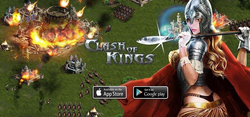 clash of kings играть в браузере