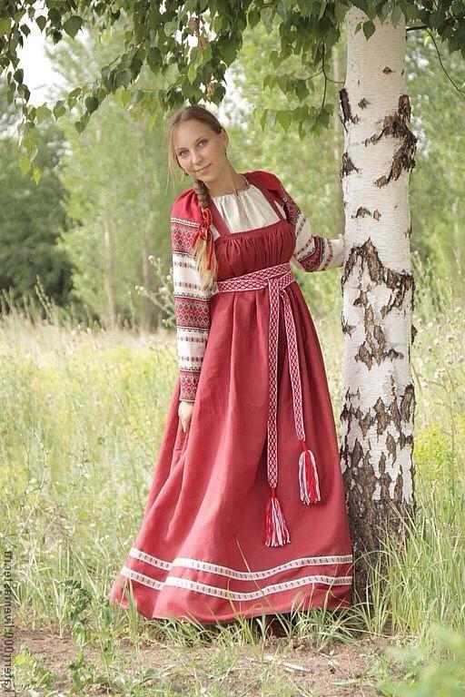 русские народные сарафаны фото выкройки