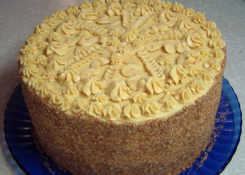 Королевский торт без муки пошаговый рецепт с