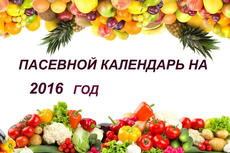 КАЛЕНДАРЬ ОГОРОДНИКА НА 2016 ГОД СКАЧАТЬ БЕСПЛАТНО