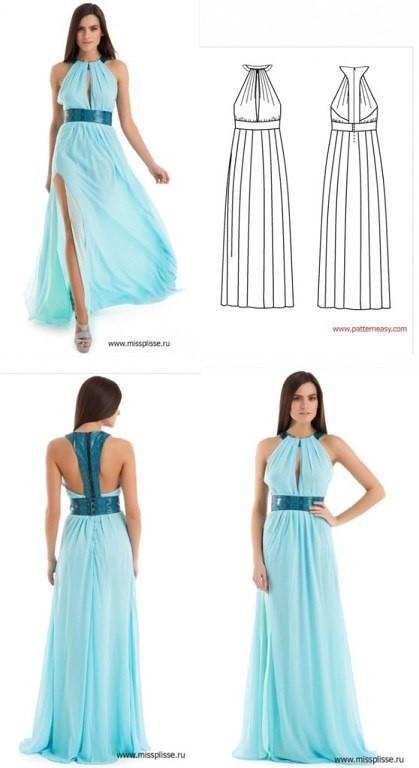 Вечернее платье как сшить