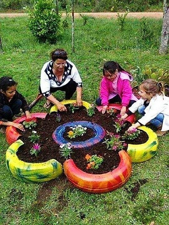 Идеи для двора и сада