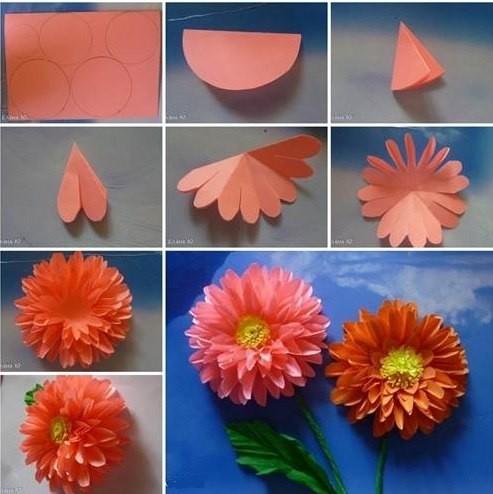 Как сделать ребёнку цветок