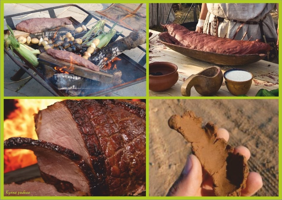 Еда, запечённая в глине: готовим птицу, рыбу, мясо для этой цели листья