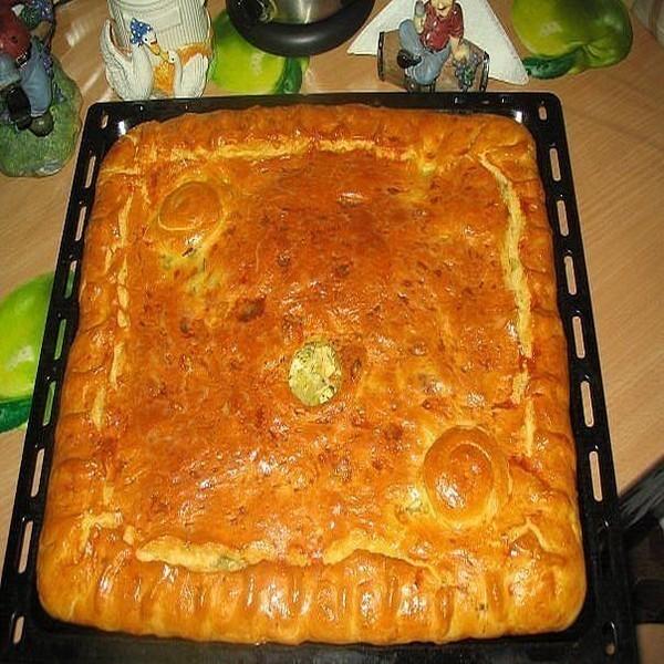 Курник бабушкин рецепт пошаговый