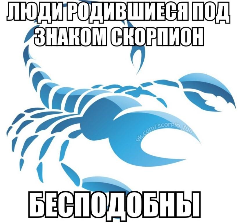 22 ноября-это под знаком скорпиона .или