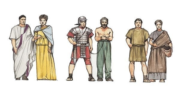a comparison of the ancient greek and roman society and culture
