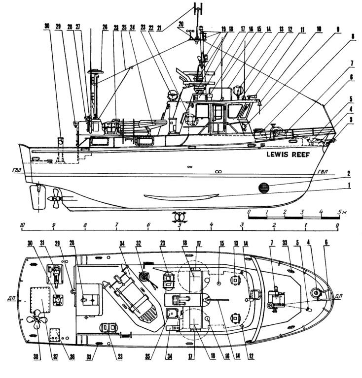 Схемы сборных моделей