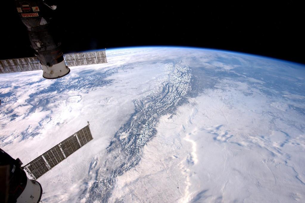 Рождество в космосе - самый высокий праздник для землян