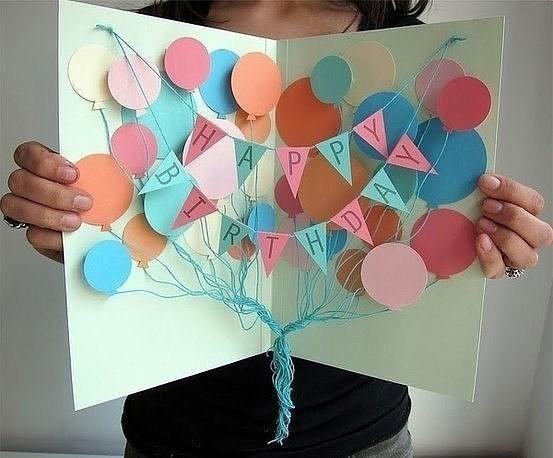 Открытки с днём рождения мама сделать своими руками