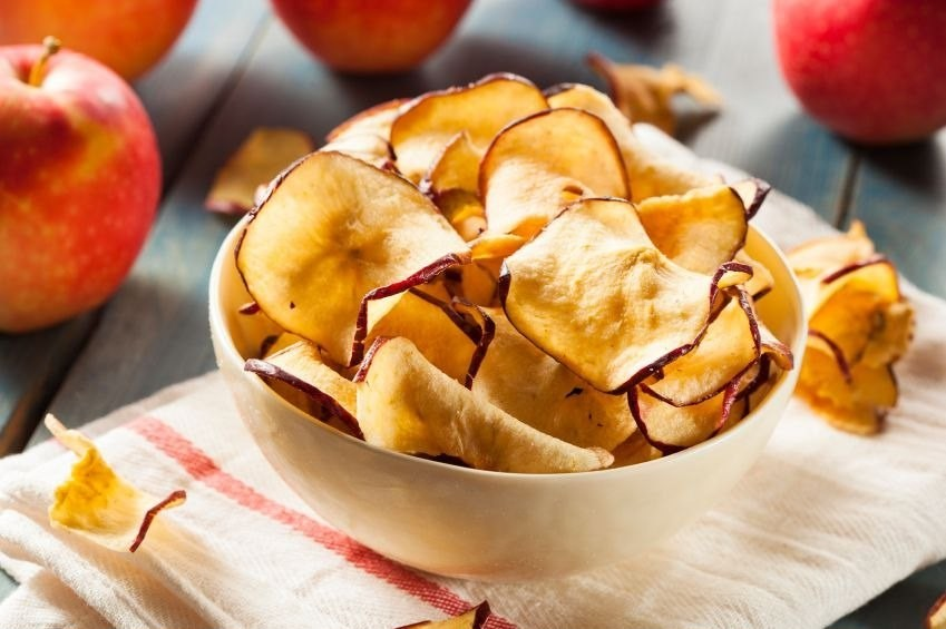 Чипсы яблочные в домашних условиях