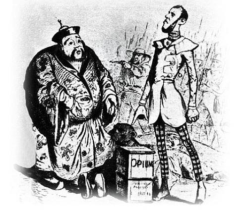 taking a look at the opium war The war arose from a great number of factors primarily arising from an imbalance of trade and cultural clashes, both of which were exacerbated by the opium trade, but both of which existed before and during the opium trade as independent agents that could have individually caused.