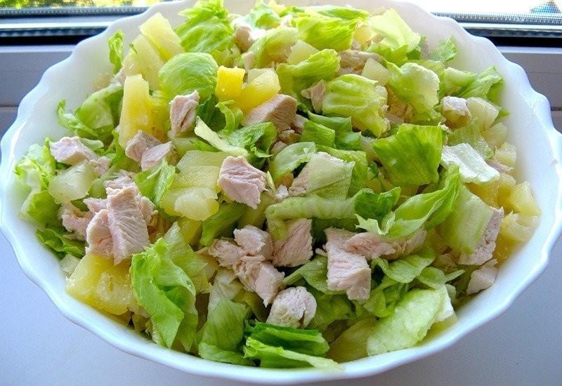 Рецепты салаты легкий