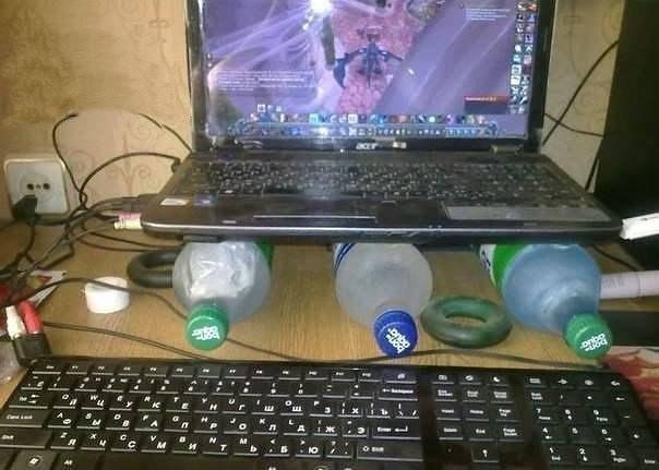 Как лучше сделать охлаждение ноутбука