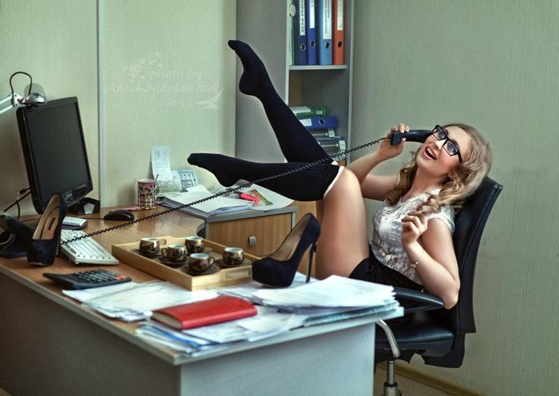 приколы в офисе голые тебе