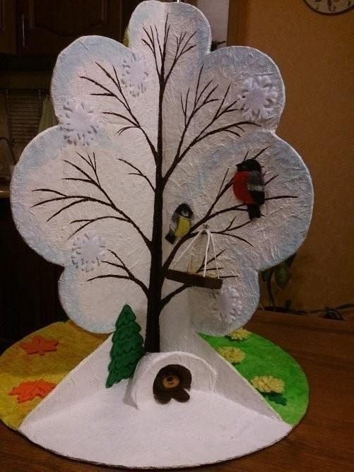 Поделка из дерева все сезоны