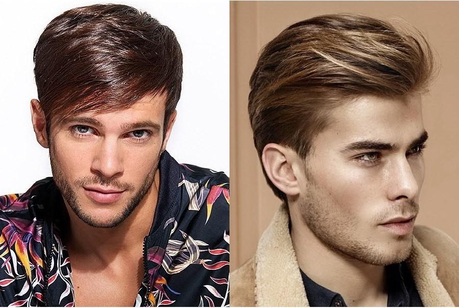 Плавные переходы без драматичных перепадов длины волос — это и есть главная особенность этой мужской стрижки.