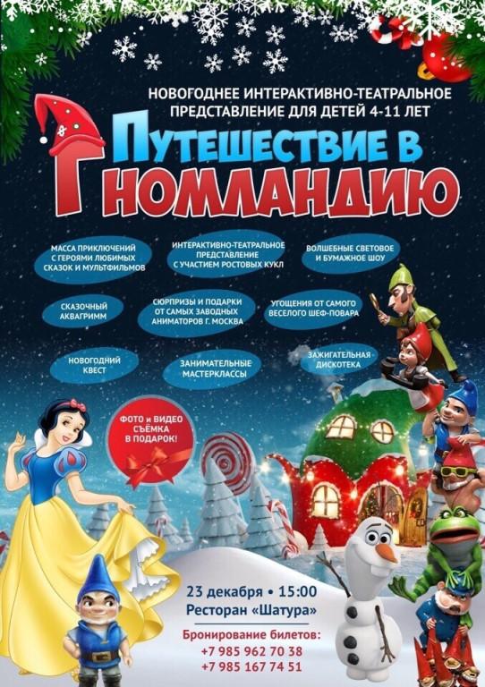 Купить билеты на новогодние представления для детей