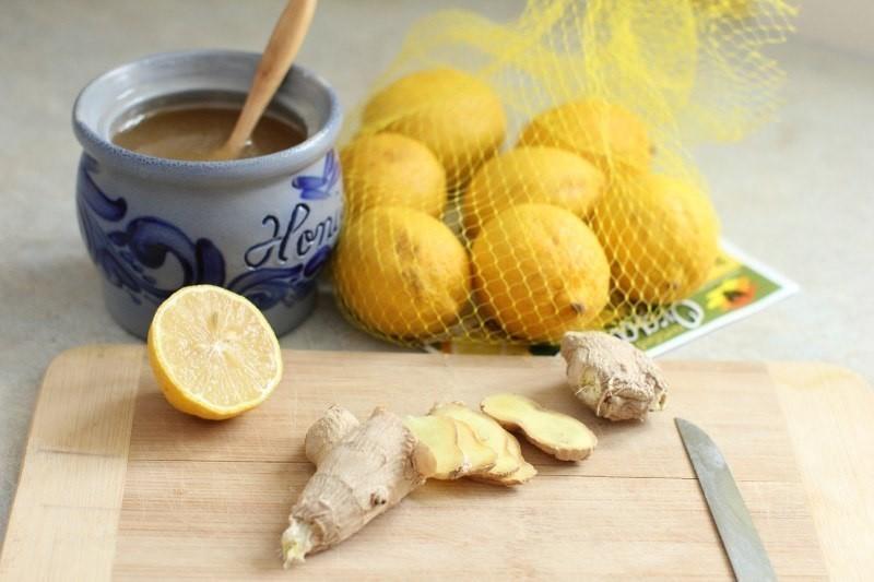 Имбирь с медом и лимоном для иммунитета (на мясорубке).