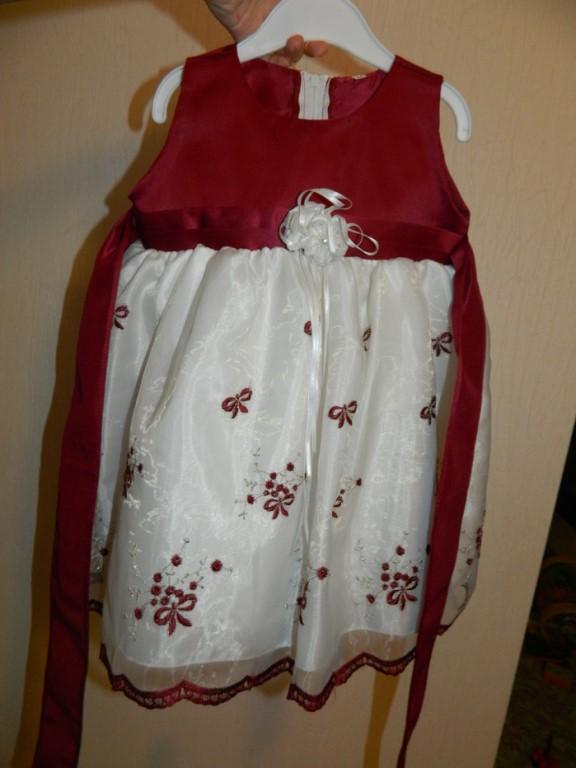 Продам нарядное платье р-р 86-92 см б/у и новое ,пристрой СП,лосины размер 116 и 122,сарафан на рост 100 см +-т.к длина лямок регулируется,ботинки р-р 26 по стельке 16 см,мокасины размер 27 по стельке 17 на узкую ножку.