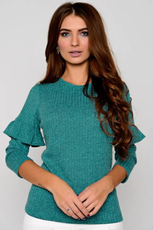 Продам Модную блузу (с этикеткой) из мягкого трикотажа с люрексом.
