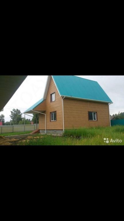 Срочно продам двух этажный дом 168 м2.,расположенный в ста километрах от Новосибирска (Ордынск).