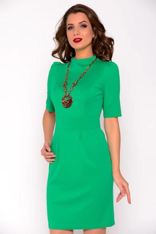 Продам эффектное офисное платье (с этикеткой) приталенного силуэта.